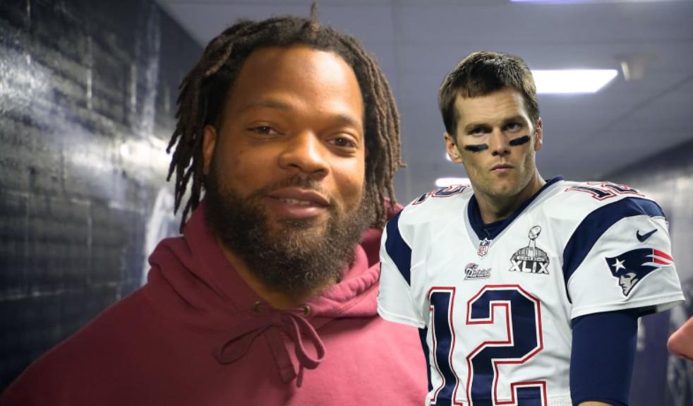 Michael Bennett No Longer Hates Tom Brady's Hair