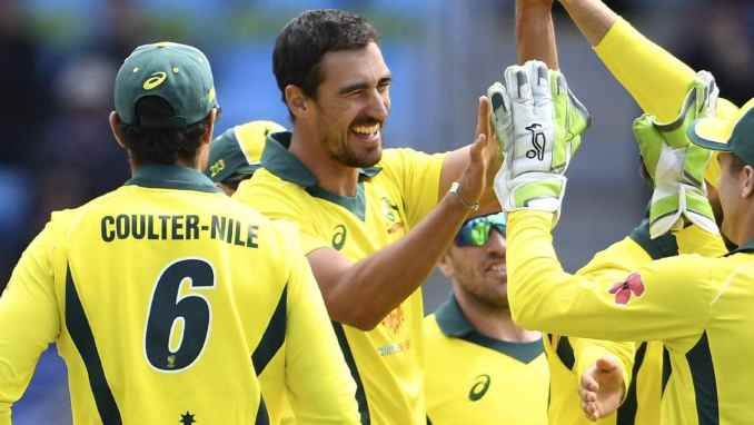 Image result for Starc ruled out of India series; Richardson recalled