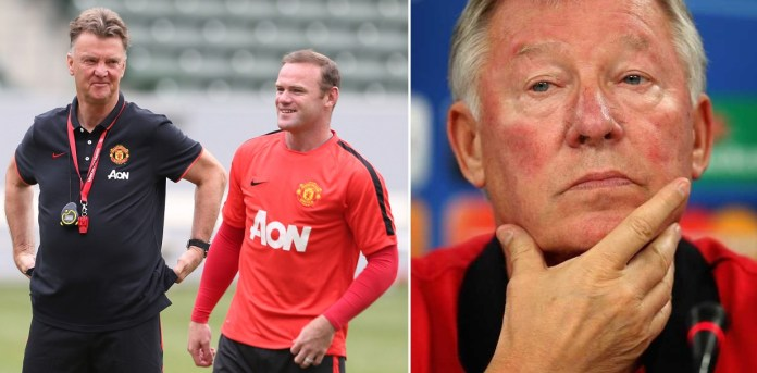 """Van Gaal The Best Coach I Worked With"" Rooney Spurns"
