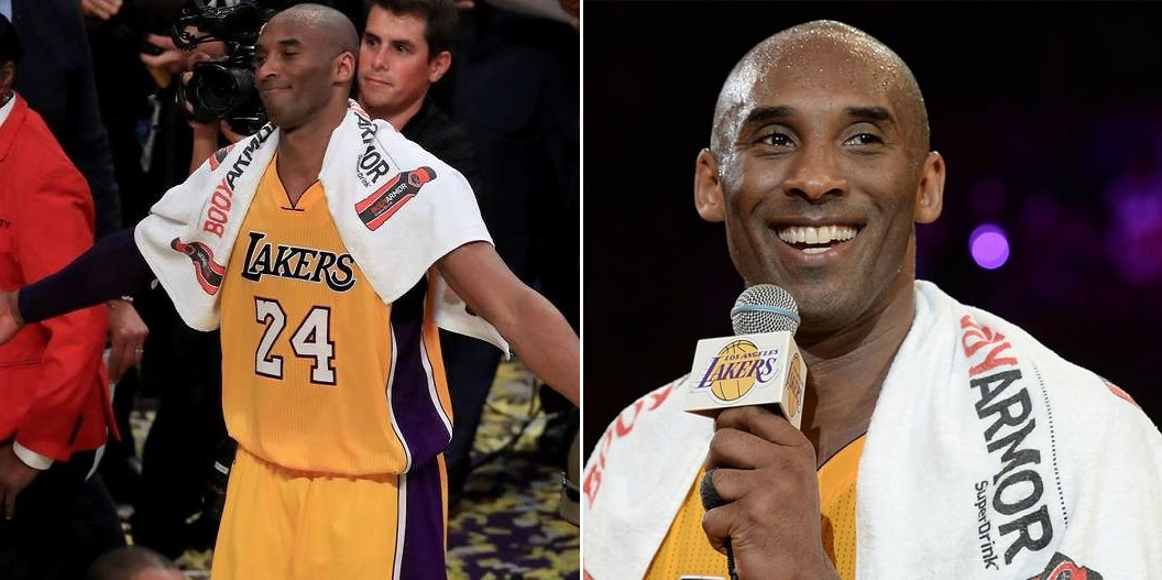 Kobe Bryant's Towel Goes For ecord Price At An Auction