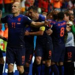 Netherland's exemplary performance Crushed spain with a 5-1 victory