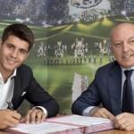 Alvaro Morata signs for Juventus