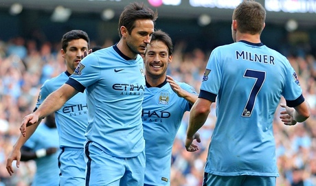 Frank Lampard scored against his former club Chelsea