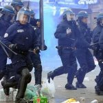 Teargas used on Everton fans