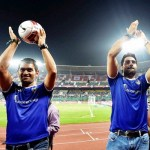 Football is my 1st love: Dhoni