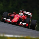 Austrian Grand Prix PF2:  Vettel beats Roseberg this time.