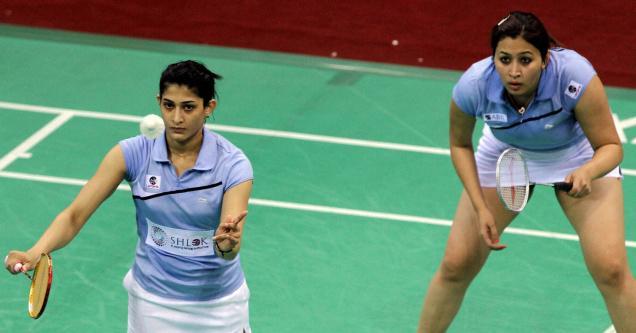 Jwala Gutta and Ashwini Ponnappa progressed into finals