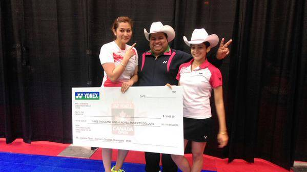 Jwala and Ashwini wins Canada Open Grand Prix
