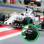 F1 news: Williams used radical new Winglet.