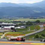 Austrian Grand Prix view 2015