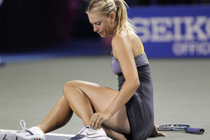 Sharapova withdraws from The US Open