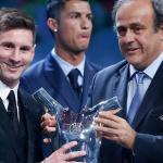 Lionel Messi confirms as UEFA Best Player in Europe