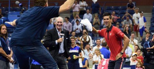 Djokovic dances Gangnam Style