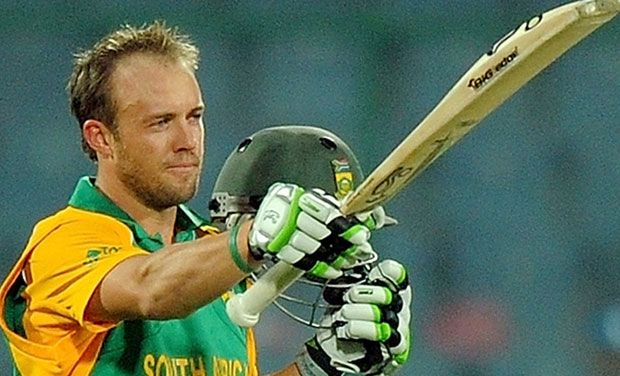 AB de Villiers was named the ICC ODI Cricketer of the Year