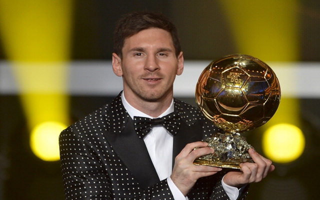 Lionel Messi wins Ballon d'Or