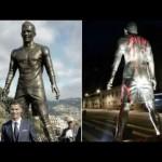 Messi fans vandalise Rolando's statue in Portugal