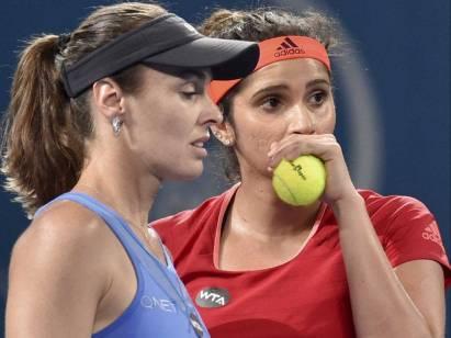 Sania Mirza and Martina-Hingis created 29 matches winning streak