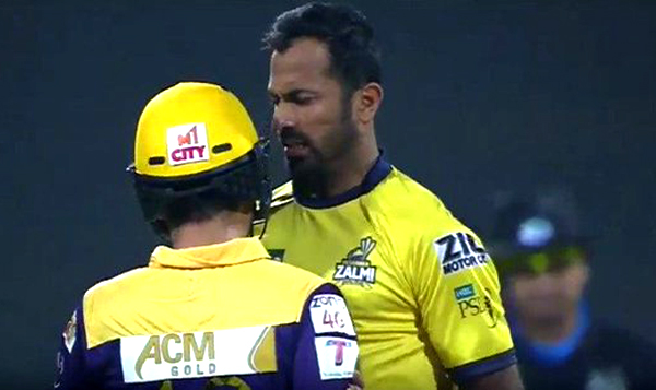 Ahmed Shehzad and Wahab Riaz involved in a physical fight