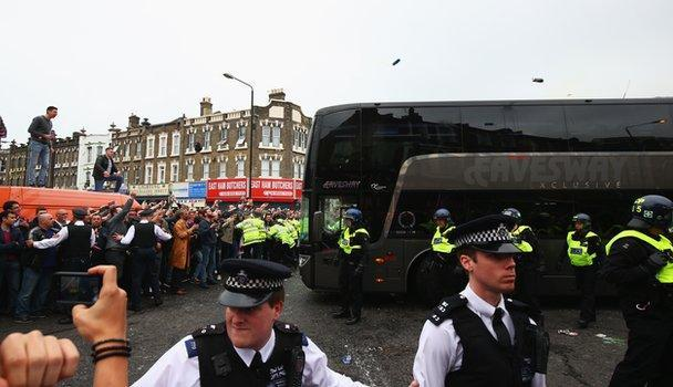 West Ham: Manchester United bus attackers will get life ban