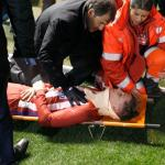 Fernando Torres nearly escaped death