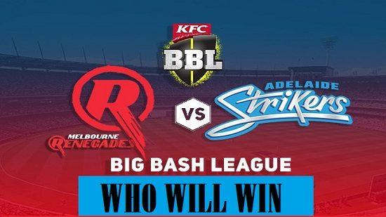 Big Bash Semis Strikers Vs. Renegades a Match or a Revenge