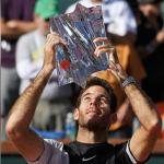 Del Potro edges Federer in 3 sets to win Indian Wells title