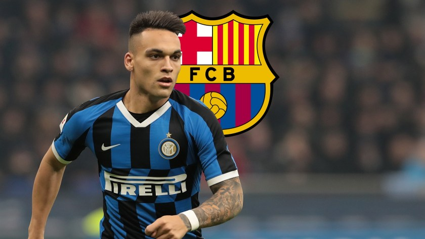 Barcelona secure £205k transfer agreement for Inter Milan striker Lautaro