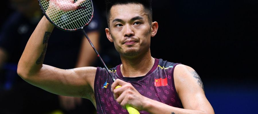 Two time Olympic champion Lin Dan bid adieu to the game