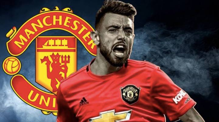 Manchester United midfielder Bruno Fernandes is on Barca and Real Madrid's radar