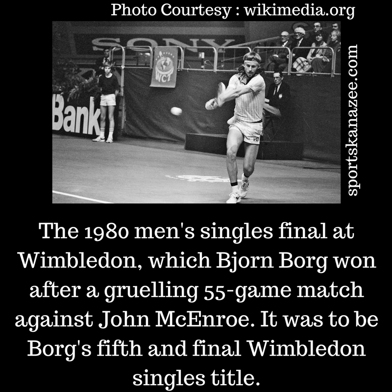 55-game match at Wimbledon