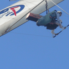 I try hang gliding… though wasn't entirely confident with instructor