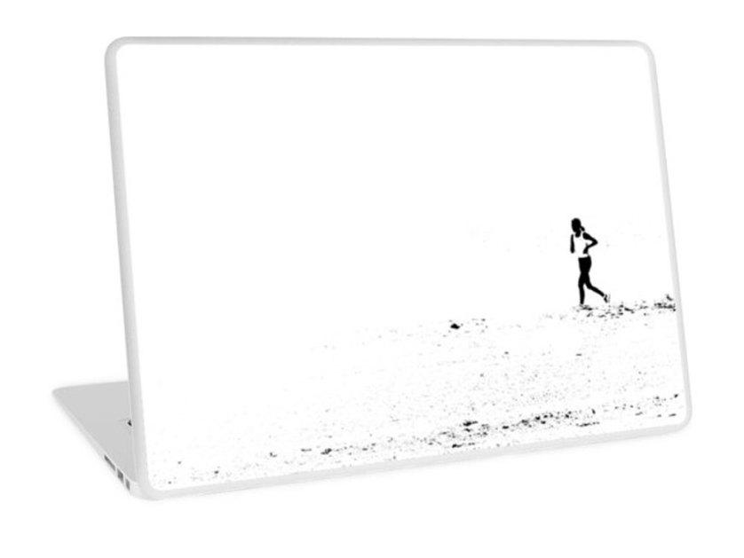 RedBubble-Runner-laptop-skin