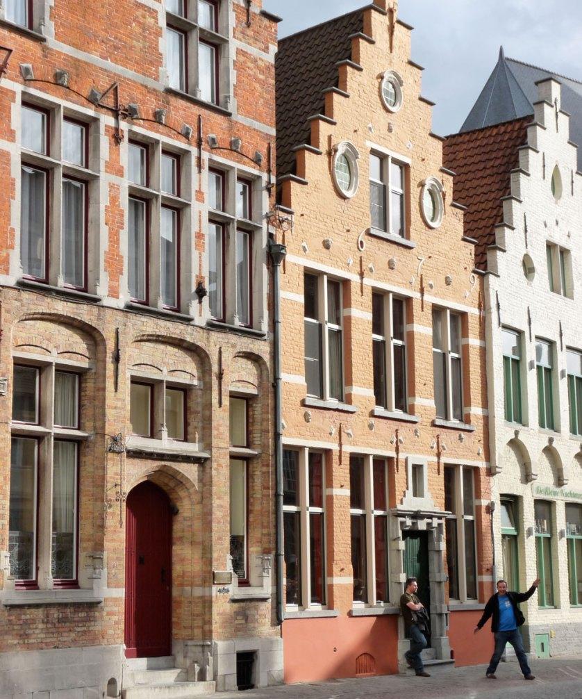 Bruges buldings