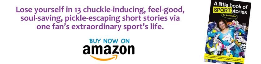 A Little Book of Sport Stories by Jo Gunston