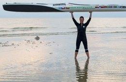 Ocean goddess kayaks around South America