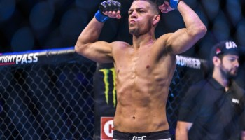 Nate Diaz weigh ins