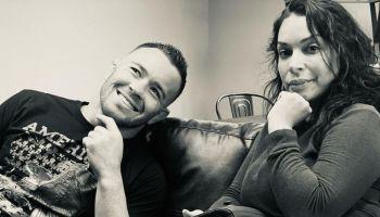 Colby Covington with Maritza Masvidal