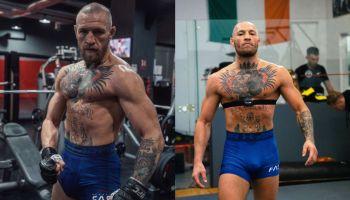 Conor McGregor training
