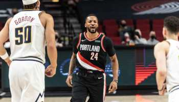 Game 5 of Denver Nuggets vs Portland Trail Blazers