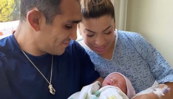 Tony Ferguson and his wife welcomes their son