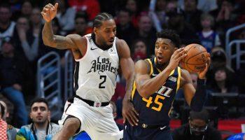 LA Clippers vs Utah jazz