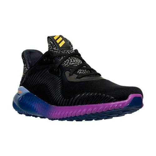 adidas alphabounce black gold purple 2