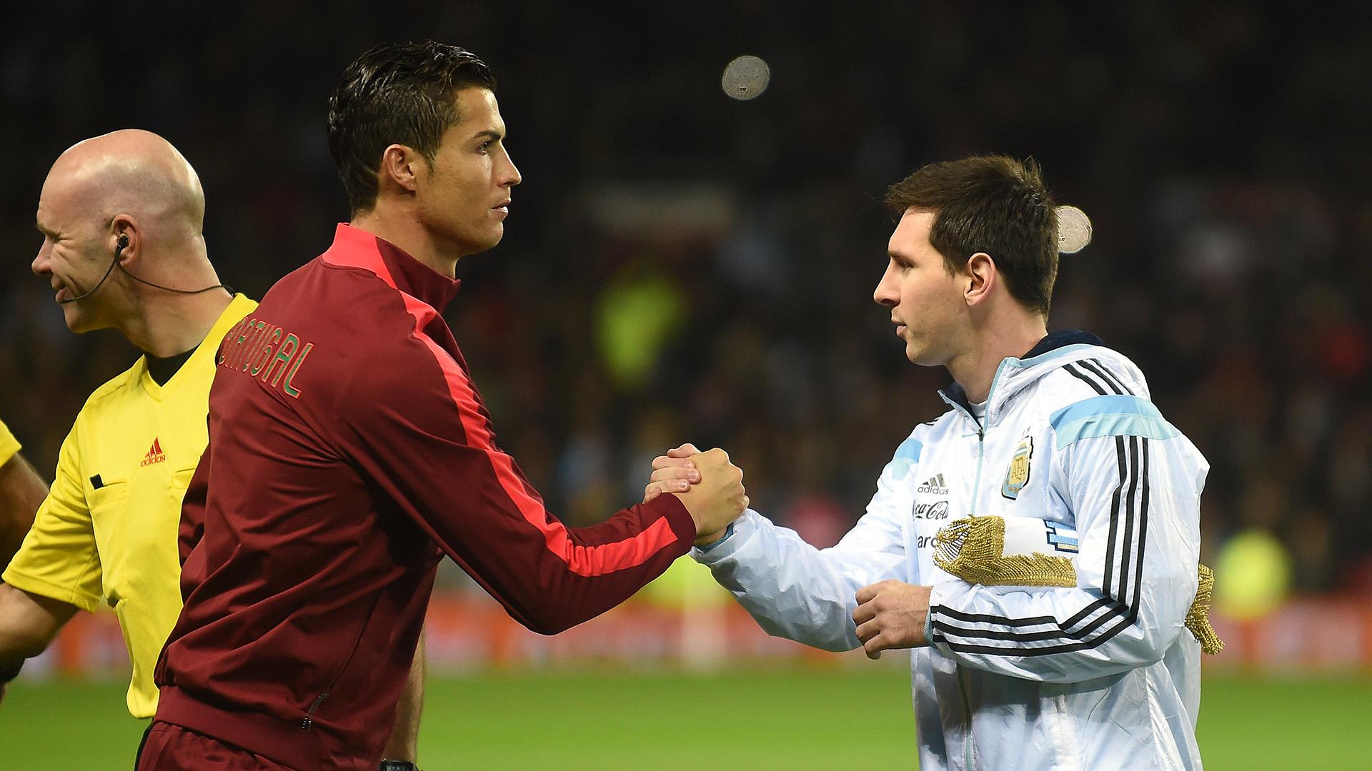 Cristiano Ronaldo openly invites Lionel Messi for Serie A ...