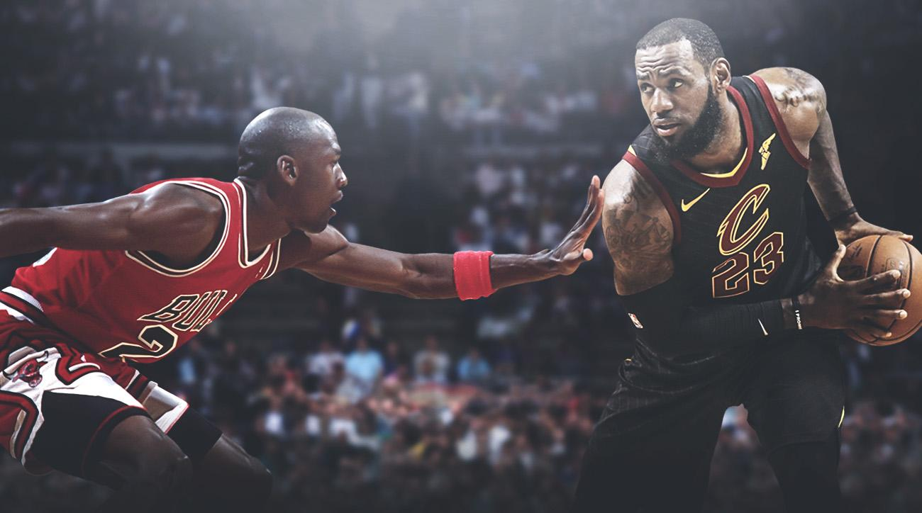 the best attitude a5d7f 184d5 Lebron James saying he is the GOAT actually confirms he isn't