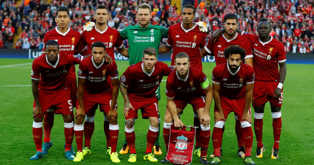 Champions League Playoffs Liverpool