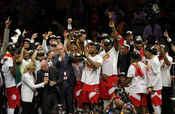 Toronto Raptors win the NBA Finals
