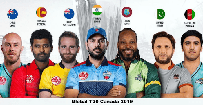 Global T20 Cricket Canada 2019 6 International Players To