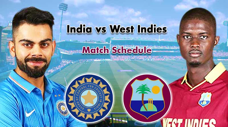 India's Tour of West Indies: Match Fixtures | SportsMonks