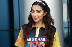 Actress Parvati Nair promotes the Abu Dhabi T10 League 2019