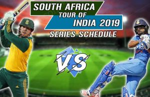 India Vs South Africa Series 2019 Schedule, Teams, Match Timings & Venue